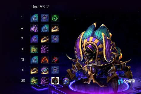 Mid lane tier list 10.10 carrying through in my tier list, i will show the best picks to take on the top lane for the current patch ranking from s she deals massive amount of aoe damage and can stun close range enemies easily (plus, it deals. Anub'arak | Talent Calculator Psionic Storm - Heroes of the Storm