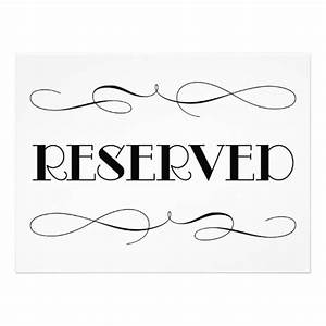 reserved sign template pictures to pin on pinterest With reserved seating signs template