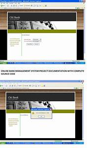 Bank Management System Project Report With Source Code
