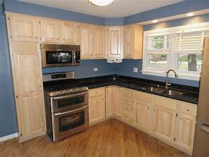 Kitchen Simple And Nice Kitchen Design With L Shaped