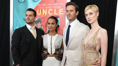 'The Man From U.N.C.L.E.': Henry Cavill, Armie Hammer ...