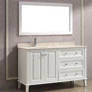 Meaning Of Vanity by Lily 55 White Bathroom Vanity