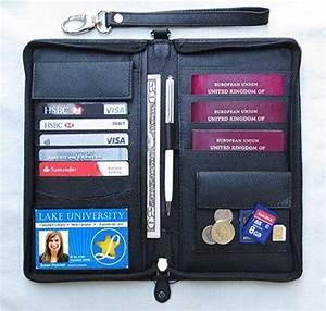 world family 4 passport document holder organiser With family passport document case