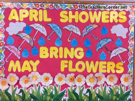 april showers bring may flowers bulletin board ideas april bulletin board ideas