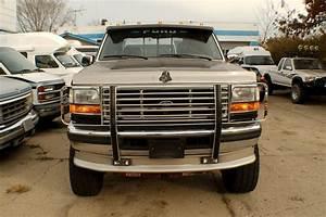 1994 Ford F350 Diesel Black 4x4 Crew Cab Truck Sale
