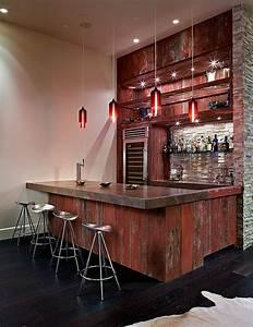 Wohnzimmer Mit Bar : die besten ideen f r wohnzimmer wo sie ihre freizeit verbringen k nnen ~ Michelbontemps.com Haus und Dekorationen