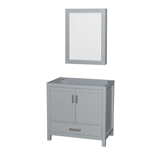 wyndham collection medicine cabinet wyndham collection sheffield 36 in vanity cabinet with