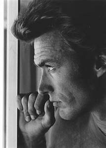 Portrait of Clint Eastwood, 1960's | Monochrome | Pinterest