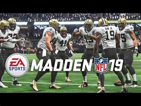 madden  gameplay saints  panthers full game nfl