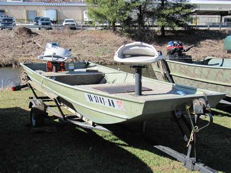 Creek Cat Boat For Sale by Used Jon Boat For Sale Buy Used Boats Jon Boat For Sale