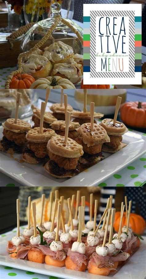 Food Ideas For A Baby Shower Brunch - a fall bubbly baby shower brunch box design baby