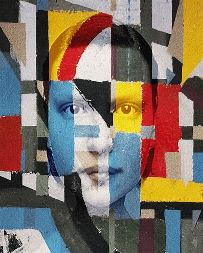 Bourel Matthieu Mondrian Ism Mesmerize Collage Hyper