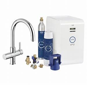 Grohe Blue Filter : grohe blue chilled sparkling c spout water filter tap appliance house ~ A.2002-acura-tl-radio.info Haus und Dekorationen