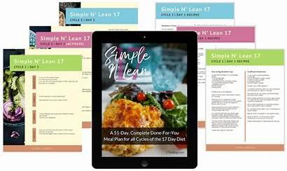 Diet Cycle Meal Grocery Lean Menus Plan