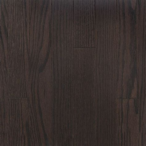 Vintage Pioneered Red Oak Cocoa Smooth Dark   Hardwood