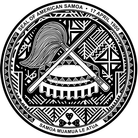Freesvg.org offers free vector images in svg format with creative commons 0 license (public. File:Seal of American Samoa.svg - Wikimedia Commons