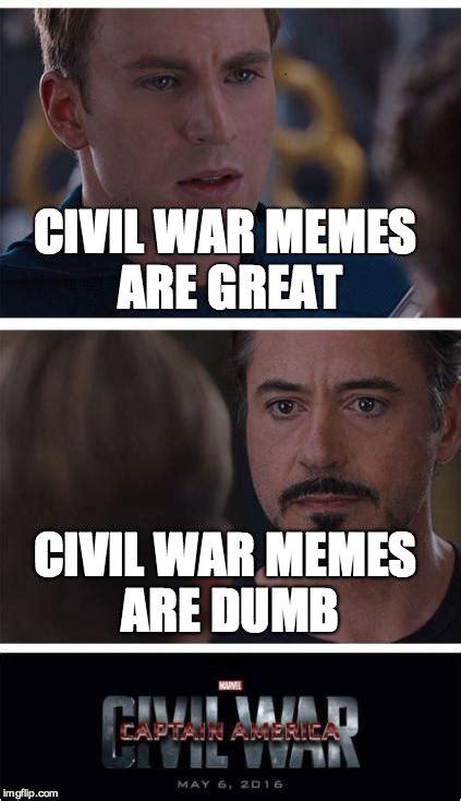 Meme War Memes - marvel civil war 1 meme imgflip