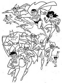 All Super Heroes Coloring Pages