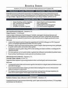 insurance claims processor resume sample monstercom With insurance claims resume