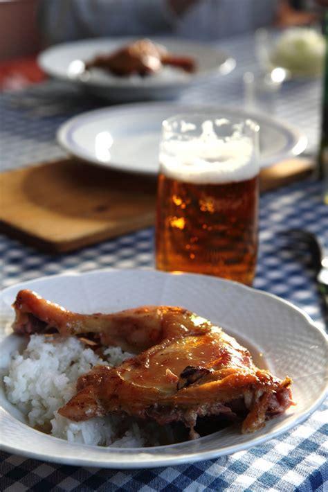 cuisine des balkans recette poulet à la bière