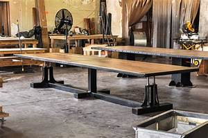 Post Industrial Conference Table – Vintage Industrial