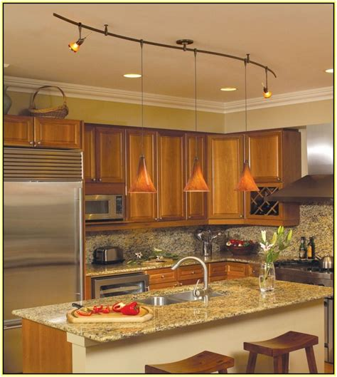 kitchen ceiling track lights kitchen track lighting easy way to enhance your kitchen 6531