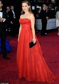 Natalie Portman Red Carpet Dress