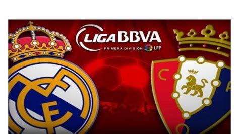 Watch Real Madrid vs Osasuna live stream free