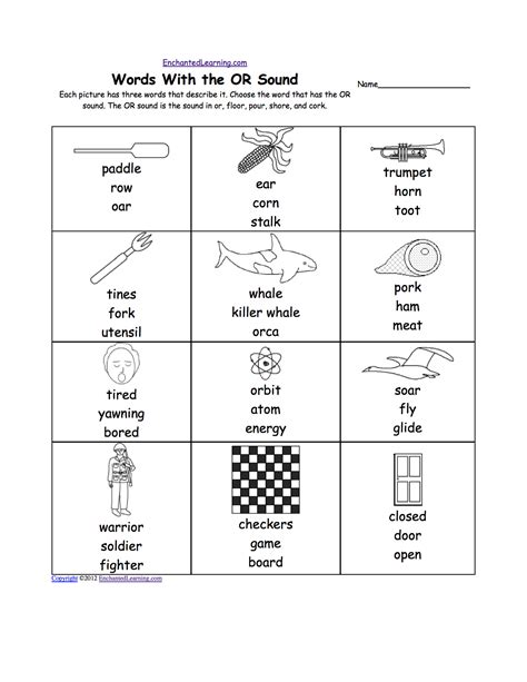Oo Phonics Worksheets Worksheets For All  Download And