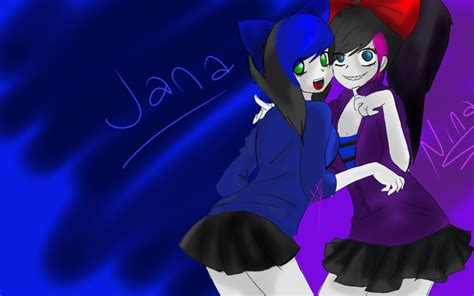 Nina The Killer Y Jana The Killer By Yuukisamasuenagaku On