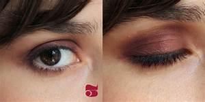 Quel Fard A Paupiere Pour Yeux Marron : tuto burgundy eyes mango and salt ~ Melissatoandfro.com Idées de Décoration