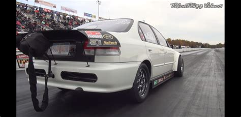 Fastest 4 Door Car by Worlds Fastest 4 Door Honda Civic Sedan Turbo And Stance