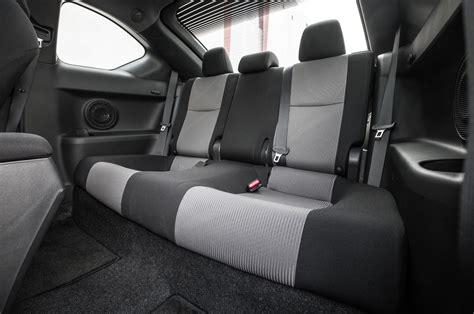 scion tc interior 2016 scion tc and last test review