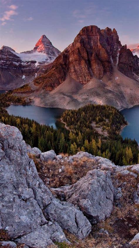 british columbia canada mount assiniboine clouds lakes