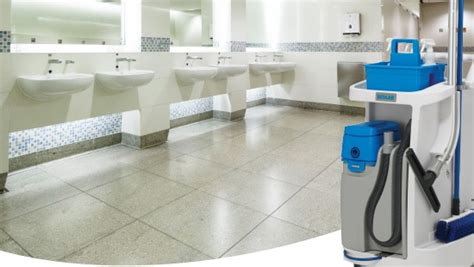 commercial bathroom cleaning ecolab