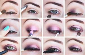 Maquillage Yeux Tuto : tuto maquillage yeux prune ~ Nature-et-papiers.com Idées de Décoration
