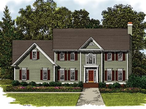 traditional two story house plans meridian place georgian home plan 013d 0017 house plans and more