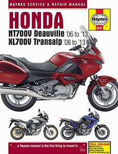 Honda Nt700v Deauville  U0026 Xl700v 2006