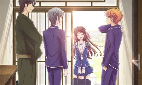 funimation  deliver  fruits basket anime series
