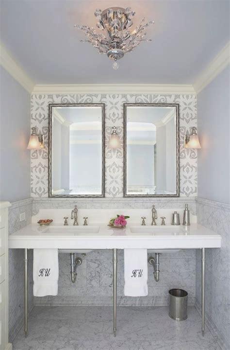 glam bathroom contemporary bathroom mahogany builders