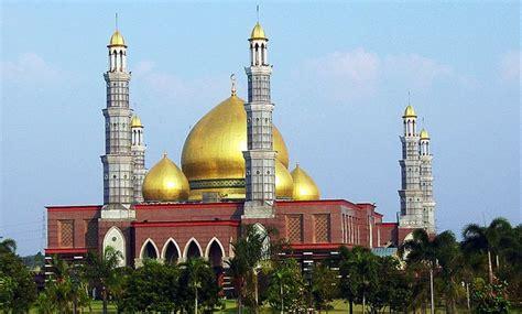 contoh gambar kubah masjid mushola minimalis terbaru