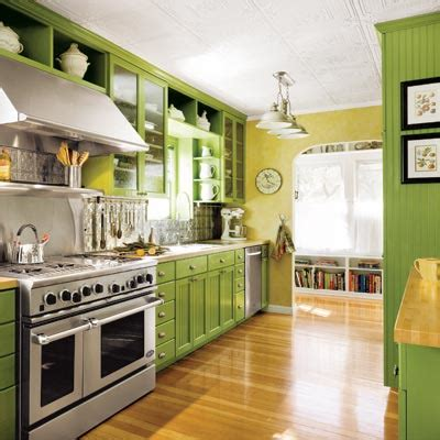 lime green kitchen cabinets perfect lime green editors picks our favorite green kitchens this old house