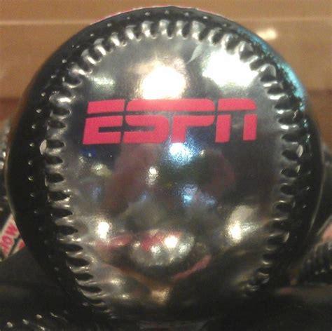 disney collectible baseball espn wide world sports black silver