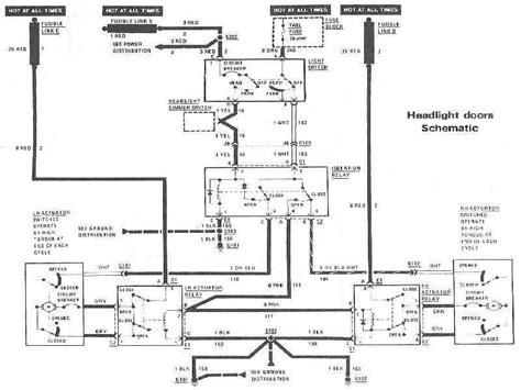 Firebird Headlight Wiring Diagram Third Generation