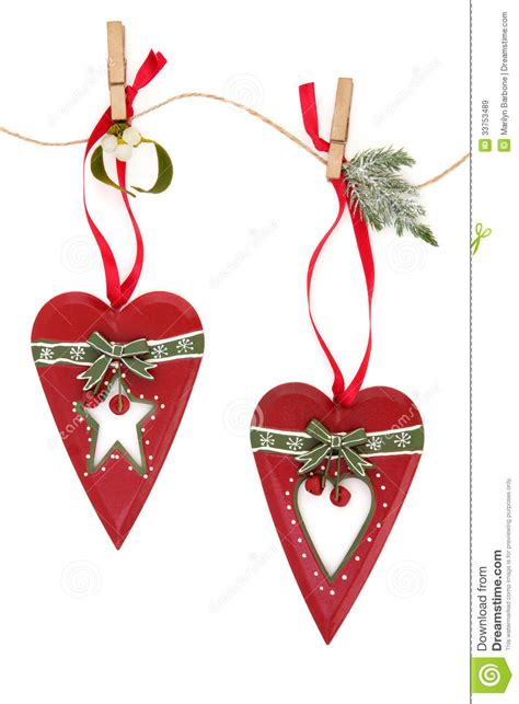retro christmas decorations stock image image