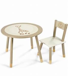 Impression De L39article Table Et Chaise Sophie La Girafe