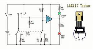 testator circuit of lm317 With lm317 lm317k lm317