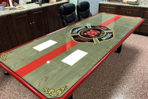 Wall Shields   Custom Firehouse Tables, Riding Assignment