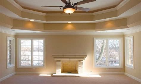 How To Paint A Tray Ceiling by Tray Cieling Painting A Ceiling Plus Ideass Interior Designs