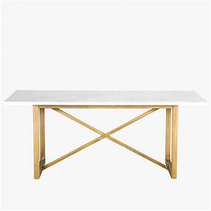 brushed gold carrara top dining table furniture dear With brushed gold coffee table